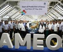 Volkswagen Ameo production starts; smartphone app launched