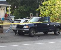 Two men arrested after Framingham crash injures two pedestrians