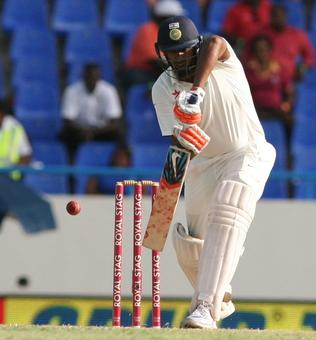 Day 2: India declare on 566/8 after Kohli double; WI 31/1