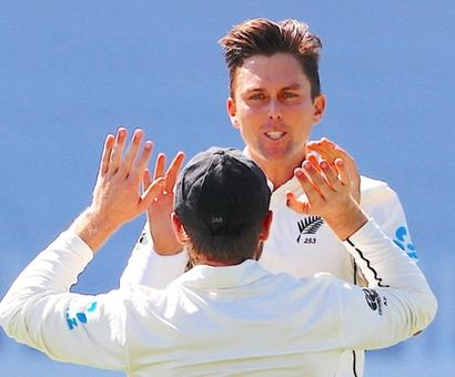 England all out for 58 after Boult, Southee wreak havoc