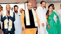 CM Vasundhara Raje meets Amit Shah ahead of his visit to state