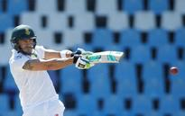 UPDATE 1-Cricket-Du Plessis closes in on ton as New Zealand toil