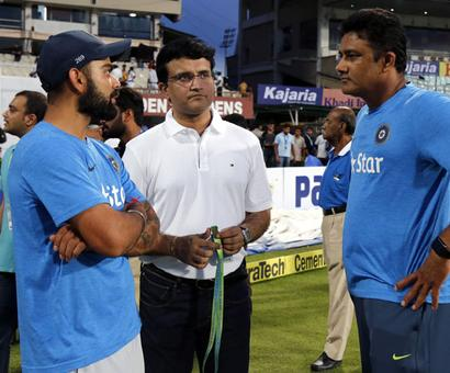 Virat will be consulted on new coach, insists Ganguly