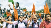 Karnataka: ABVP continues protest; Amnesty office closed