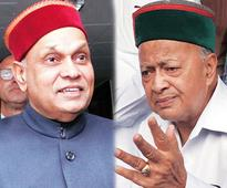 War of words between Himachal CM, Dhumal over removal of plaque