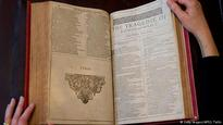 Rare Shakespeare book sells for $2.75 million in London
