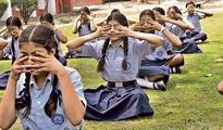 CBSE schools can grade students on yoga studies
