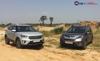 Honda BR-V vs Hyundai Creta: Petrol Automatic Review