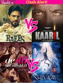 Ae Dil Hai Mushkil- Shivaay, Raees-Kaabil  Here are the upcoming box office clashes thatre going to rock Bollywood!