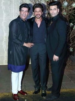 SRK, Kareena, Aishwarya celebrate Manish Malhotra's birthday