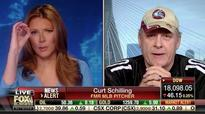 On FBN, Curt Schilling Struggles to Explain Trump Comment About Young Girl