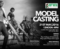 African Fashion Week Nigeria Model Casting