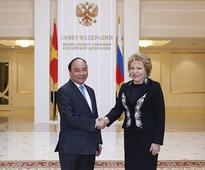 PM Meets with Russian Federation Council Chairperson