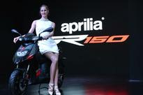 Piaggio India rolls out the first Aprilia SR 150 from its Baramati plant