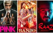 Box Office Collections: Pink smashes Raaz Reboot, Banjo starts on a sorry note