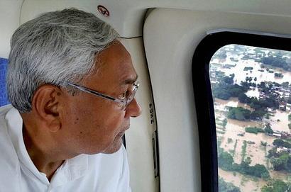 Feel like 'crying' at Ganga's condition in Bihar, Nitish tells PM