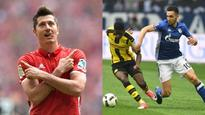 Bundesliga: Bayern Munich's Lewandowski single-handedly thrashes Augsburg, Schalke-Dortmund share spoils
