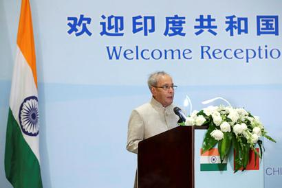 President seeks bigger Chinese market for Indian products