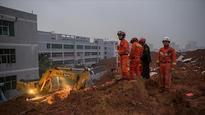 Landslide kills 6 after burying building in south China