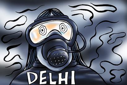Does anyone care what air Delhi breathes?