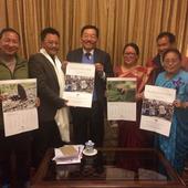 CM launches Sikkim Ornithological Society (SOS) Calander 2018