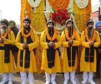 Nagar Kirtan taken out ahead of Prakash Utsav