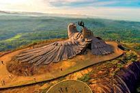 The world's largest bird sculpture
