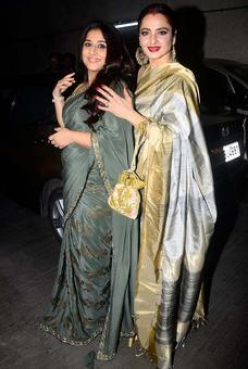 PIX: Vidya Balan, Rekha have a movie date