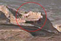 UFO sighting: NASA images show Martian 'walled city' ruins