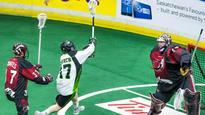 Zack Greer scores five goals as Saskatchewan Rush get past Knighthawks