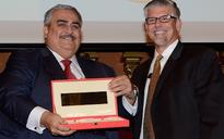 King of Bahrain receives Samuel Zwemer award for supporting American Mission Hospital