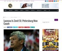 Lucescu Is Zenit St. Petersburg New Coach