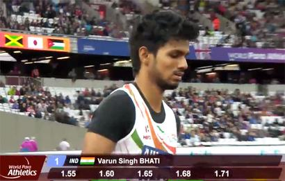 World Para Athletics: Silver for Sharad, bronze for Bhati in high jump event