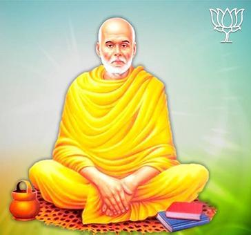 BJP calls social reformer Narayana Guru a 'Hindu sanyasi'; triggers outrage