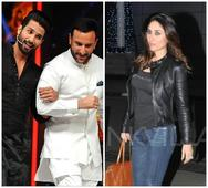 Saif and I Never Had an Affair - Quips Shahid When Asked on Working with Him in Rangoon!