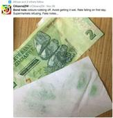 Zimbabwe runs out of its new money within first week
