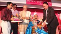 Mumbai: Drama directors A G Kamath, Francis Fernandes Cascia honored at Arts Shigmotsav