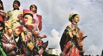Mumbai: 2 drones help cops monitor crowd at Ganpati immersion