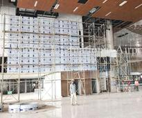 Kannur airport terminal building nearing completion