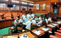 Karnataka: Legislators spend night in Assembly hall, seek KJ George's resignation