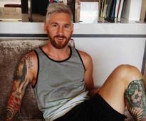 Lionel Messi Drops Blonde Bomb Ahead of New Season