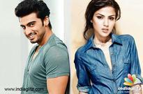 FIT BOND: Arjun Kapoor and Rhea Chakraborty