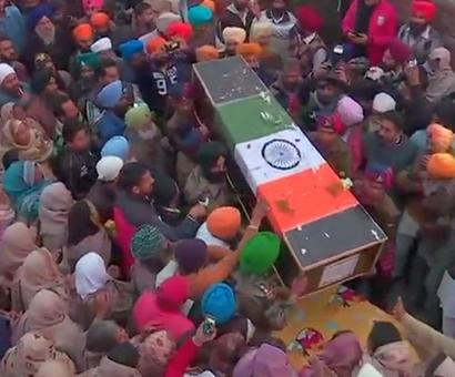 Teach Pak a lesson: Father of soldier killed in J-K cross- border firing