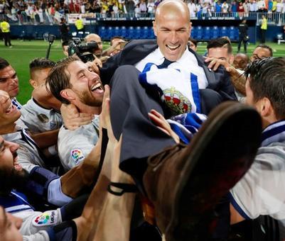 Real title win 'an incredible feeling' for Zidane