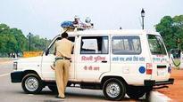 PCR van rams into rickshaw, one killed