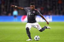 Bayern Munich midfielder David Alaba 'favours joining Arsenal over Manchester United'