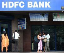 HDFC shares fall over 3% on provision of Rs 450 crore