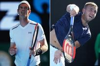 Andy Murray and Dan Evans move into Australian Open second round, Aljaz Bedene out