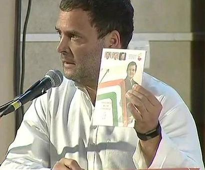 Congress releases Karnataka manifesto