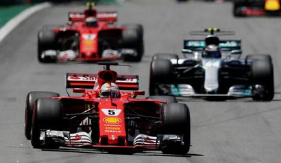 Formula One: Vettel wins Brazilian GP, Hamilton fourth